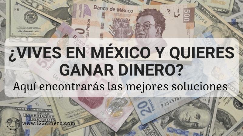 ganar dinero extra en mexico