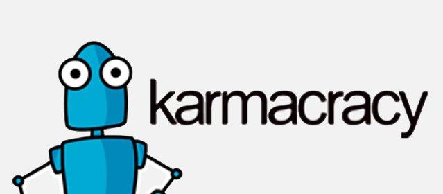 Karmacracy ganar dinero twitter