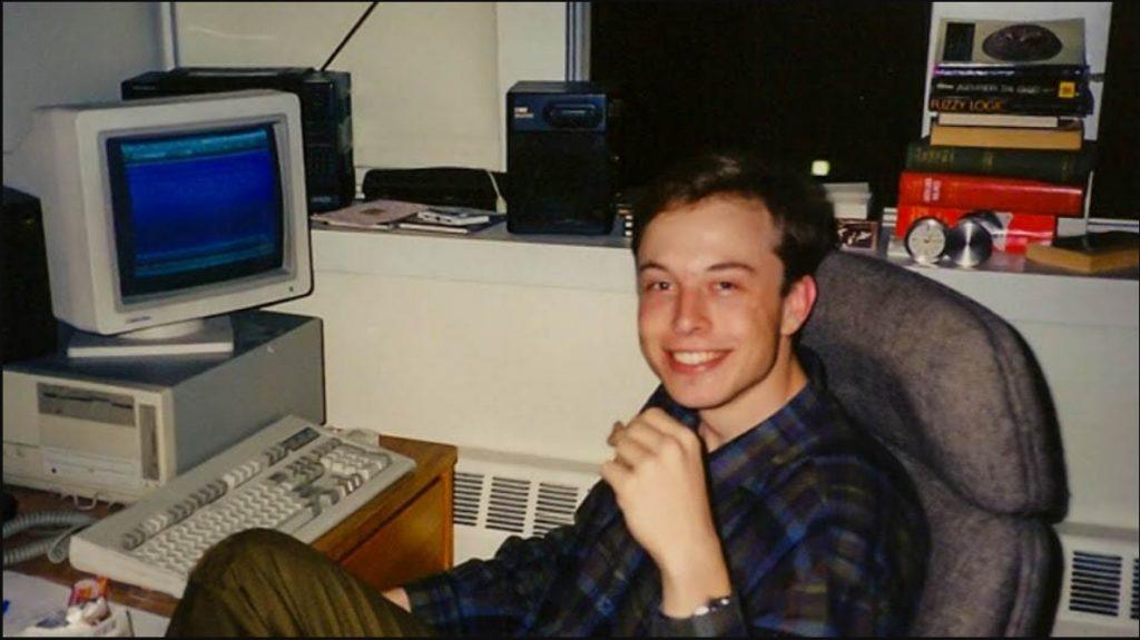 Elon Musk en la época universitaria
