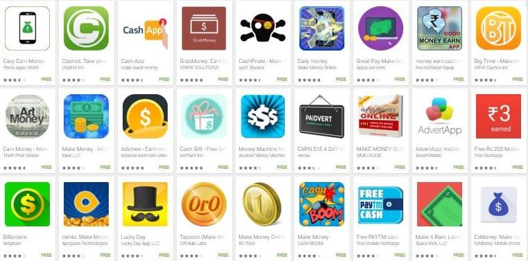 ganar dinero jugando con apps - juegos online